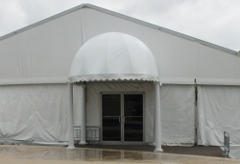 Tent With Bubble Entry