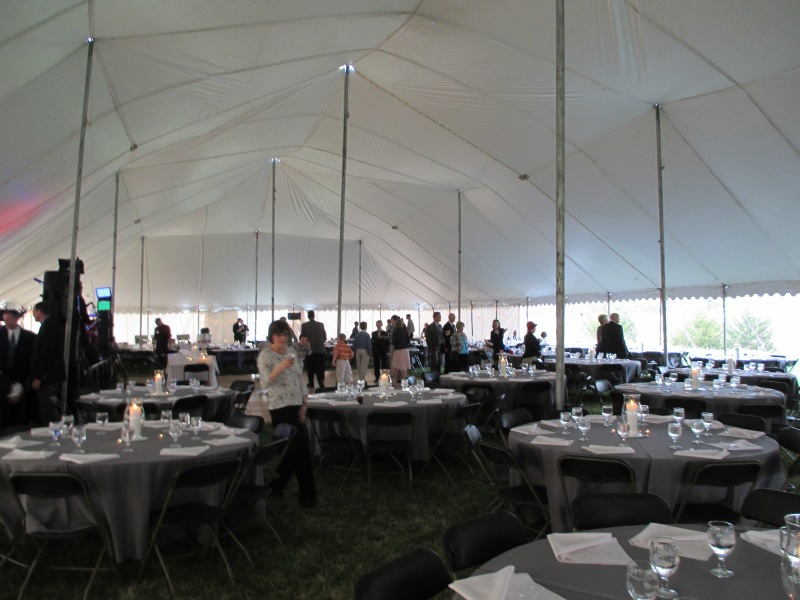 60 X 120 white large event tent
