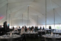 60 X 120 white large tent rental