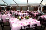 Clear Tent Reception - wedding reception tent rental Lincoln, NE