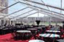 Clear vinyl tent set at UNL Lincoln NE