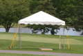 10 X 10 WHITE Frame Tent Rental