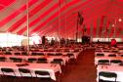 Thumbnail Interior of Large tent for Church Dinner