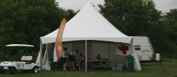 unique clear span frame tent rental for registration tent
