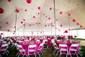 60 X 90 white wedding tent rental in NE