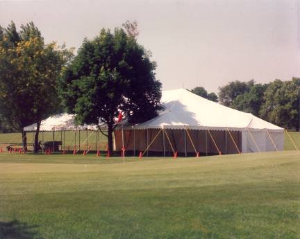 image of 60 X 90 white wedding tent rental at University of Nebraska at Lincoln